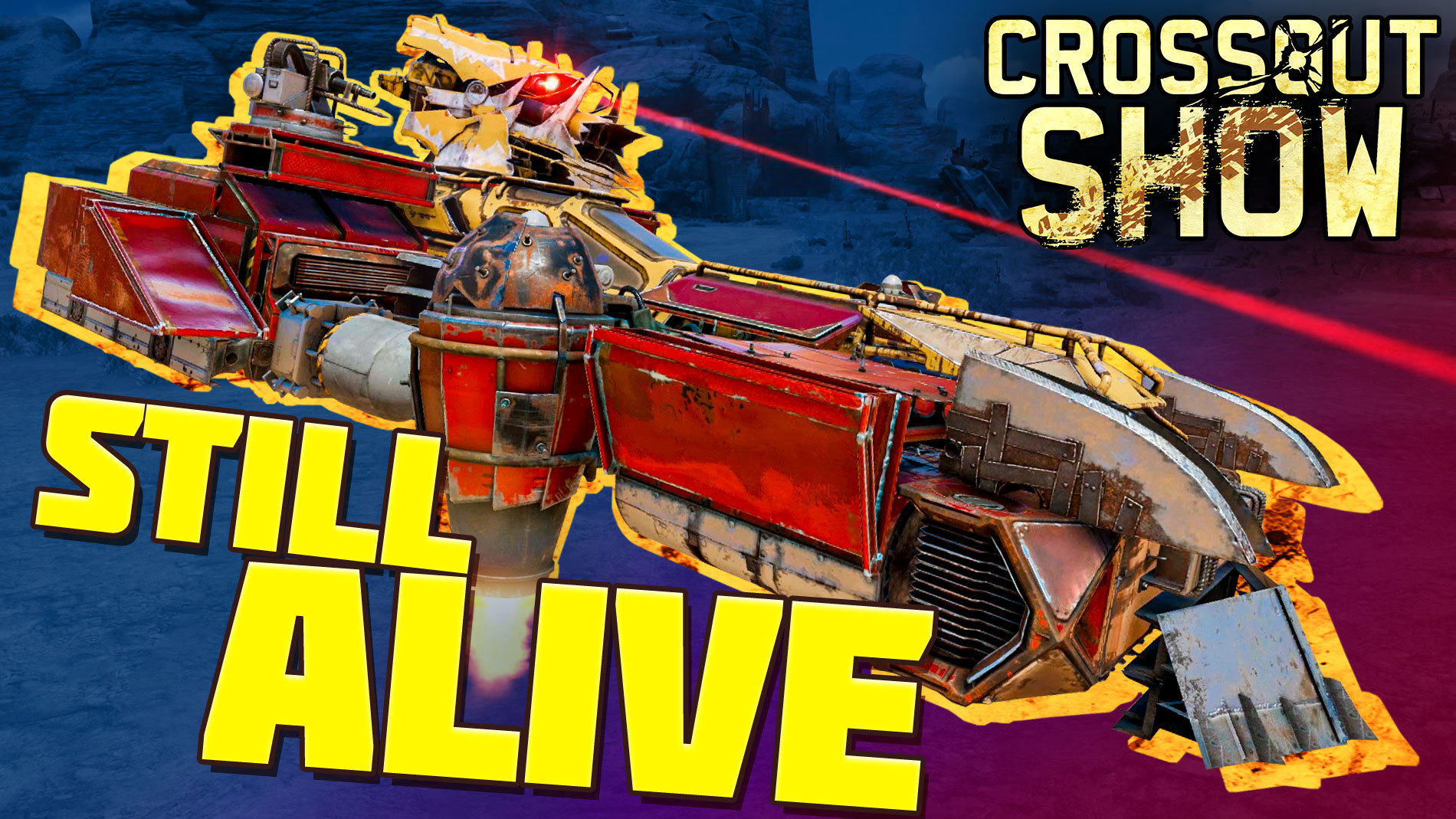 [Video]  Crossout Show: Still alive