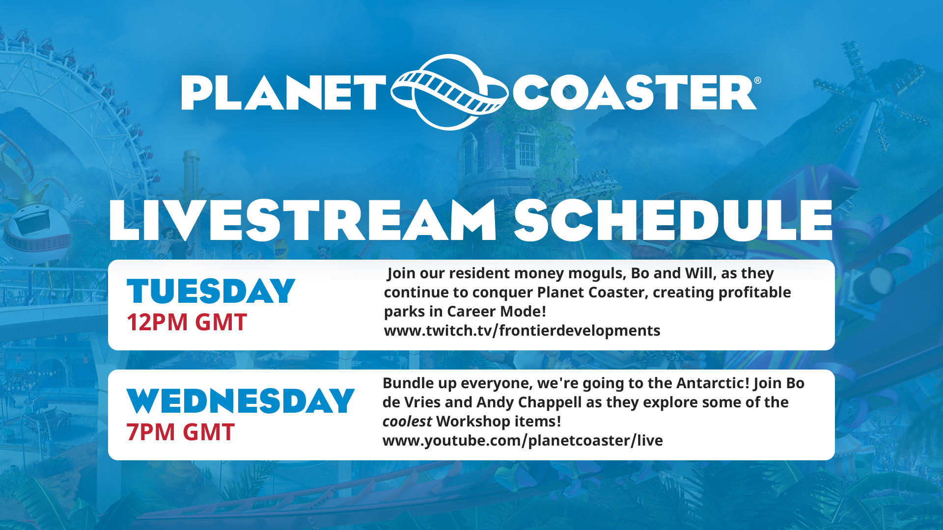 steam community :: planet coaster