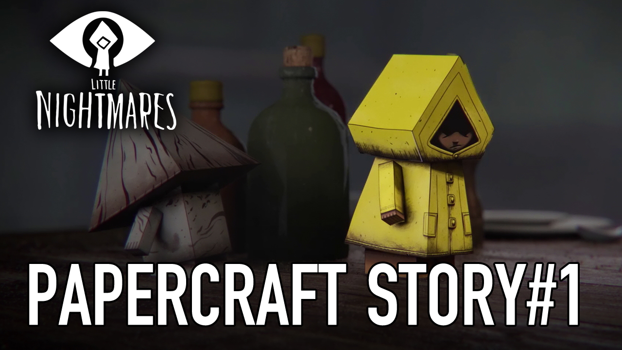 Little Nightmares' paper-crafts are now available!