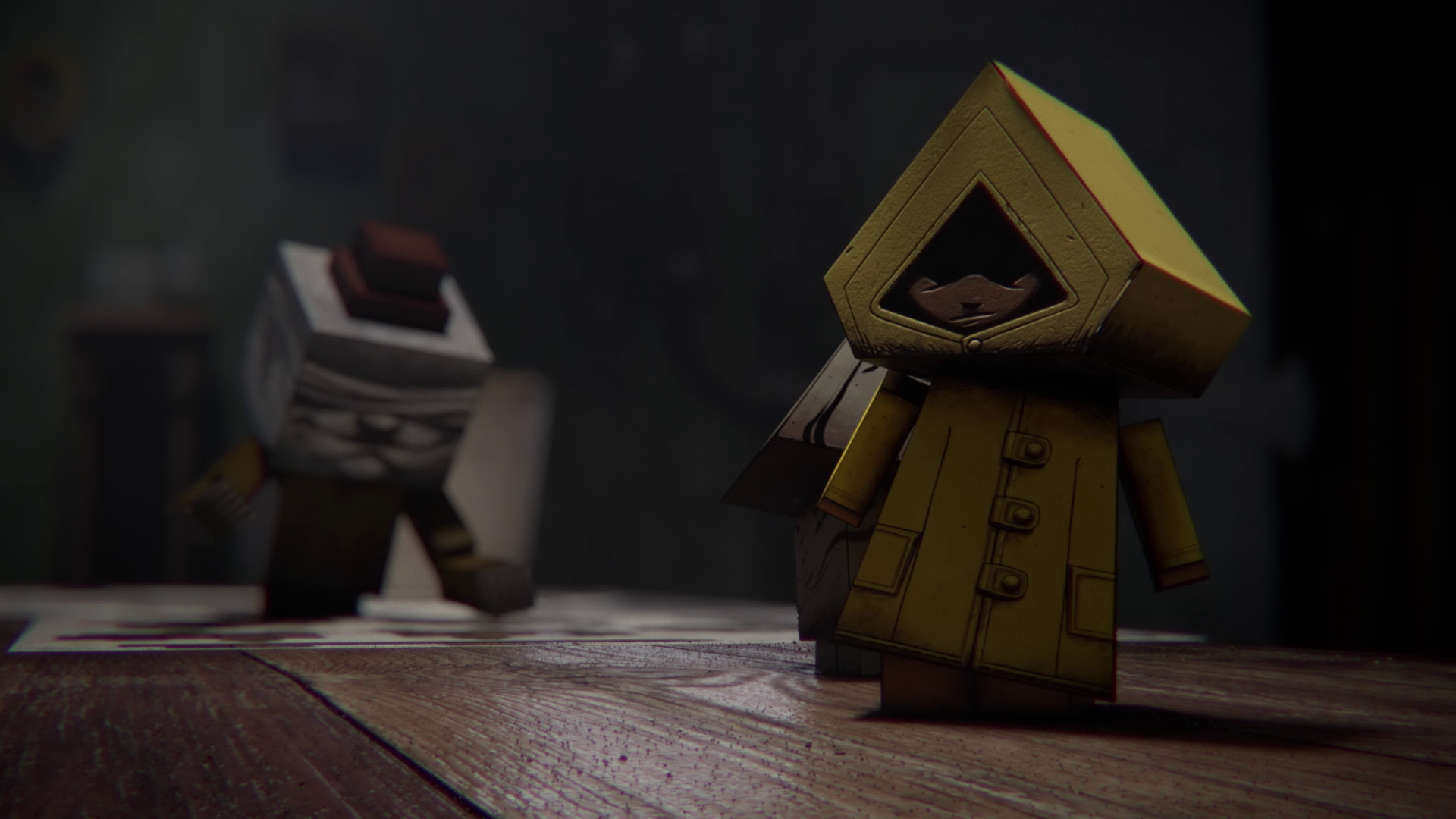 Little Nightmares Paper Craft Story Chapter 2 Here Comes The