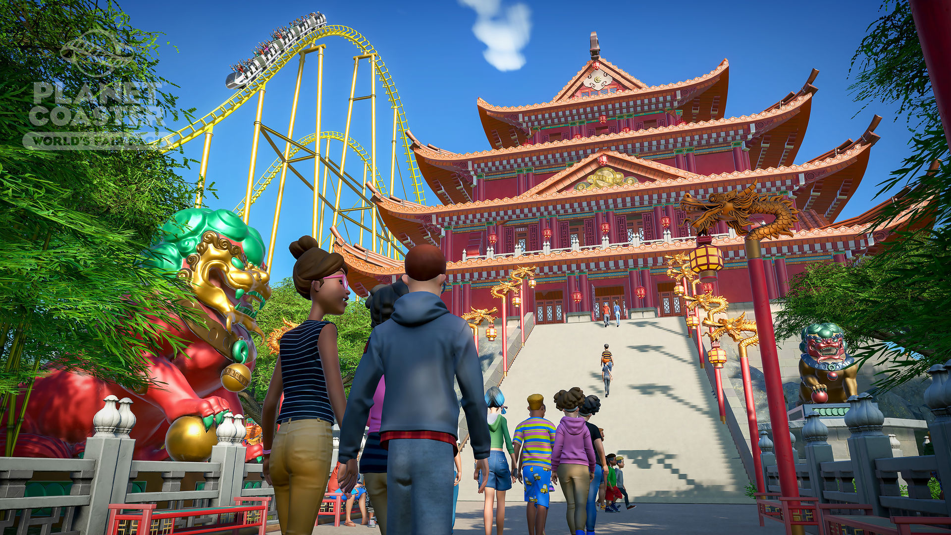 Oct 9, 2018 Planet Coaster gets some international flair in its