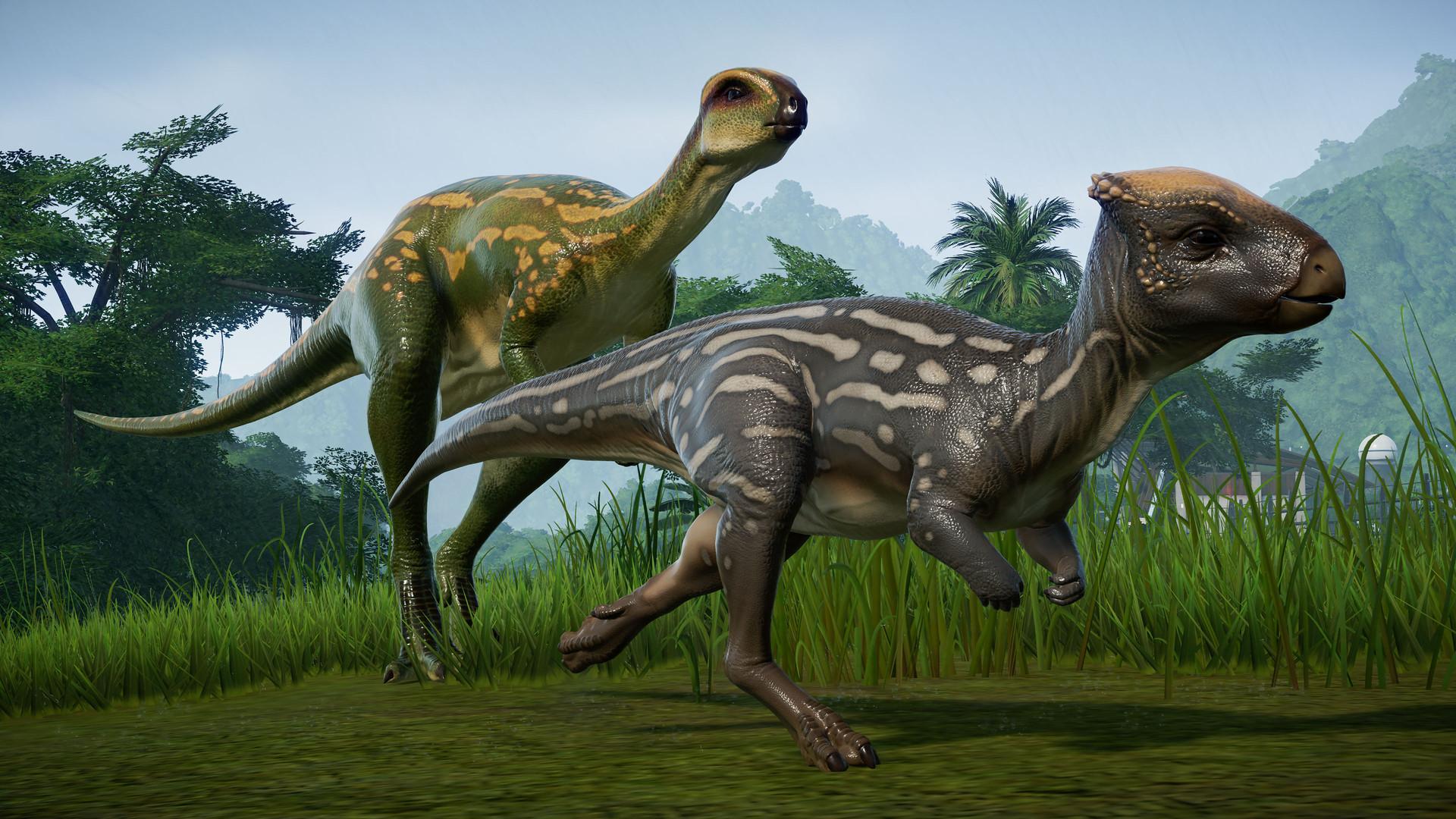 Jurassic World Evolution - Update 1.10 and Herbivore Dinosaur Pack