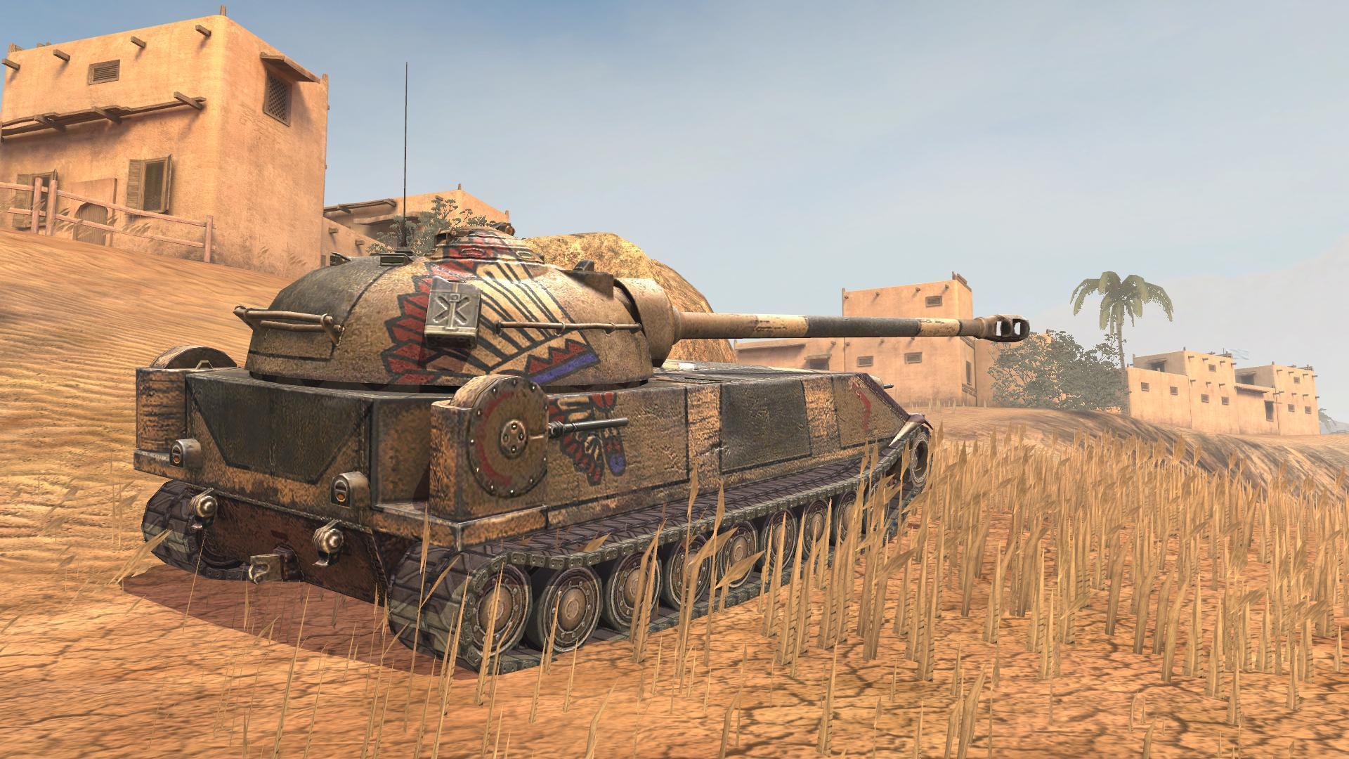 World of Tanks Blitz :: Chrysler K—The Thick-Skinned Heavy