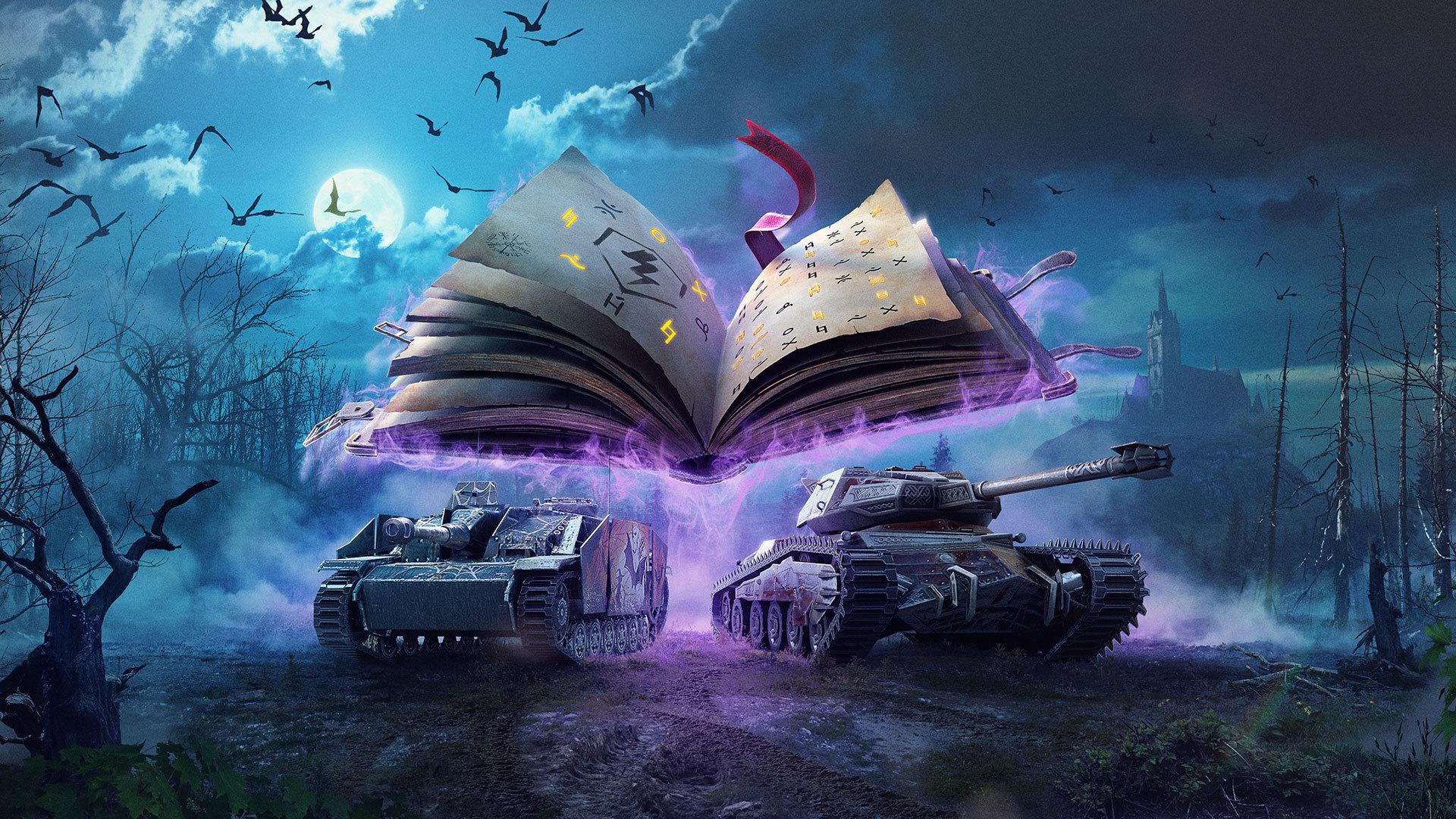 Steam World Of Tanks Blitz The Hunter S Moon Folio