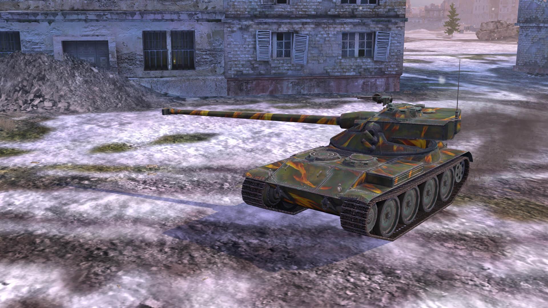 World of Tanks Blitz :: Smashing Camo