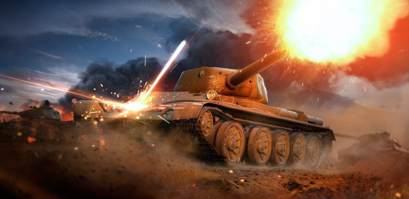 World of Tanks Blitz :: The T-54 First Prototype Pops In