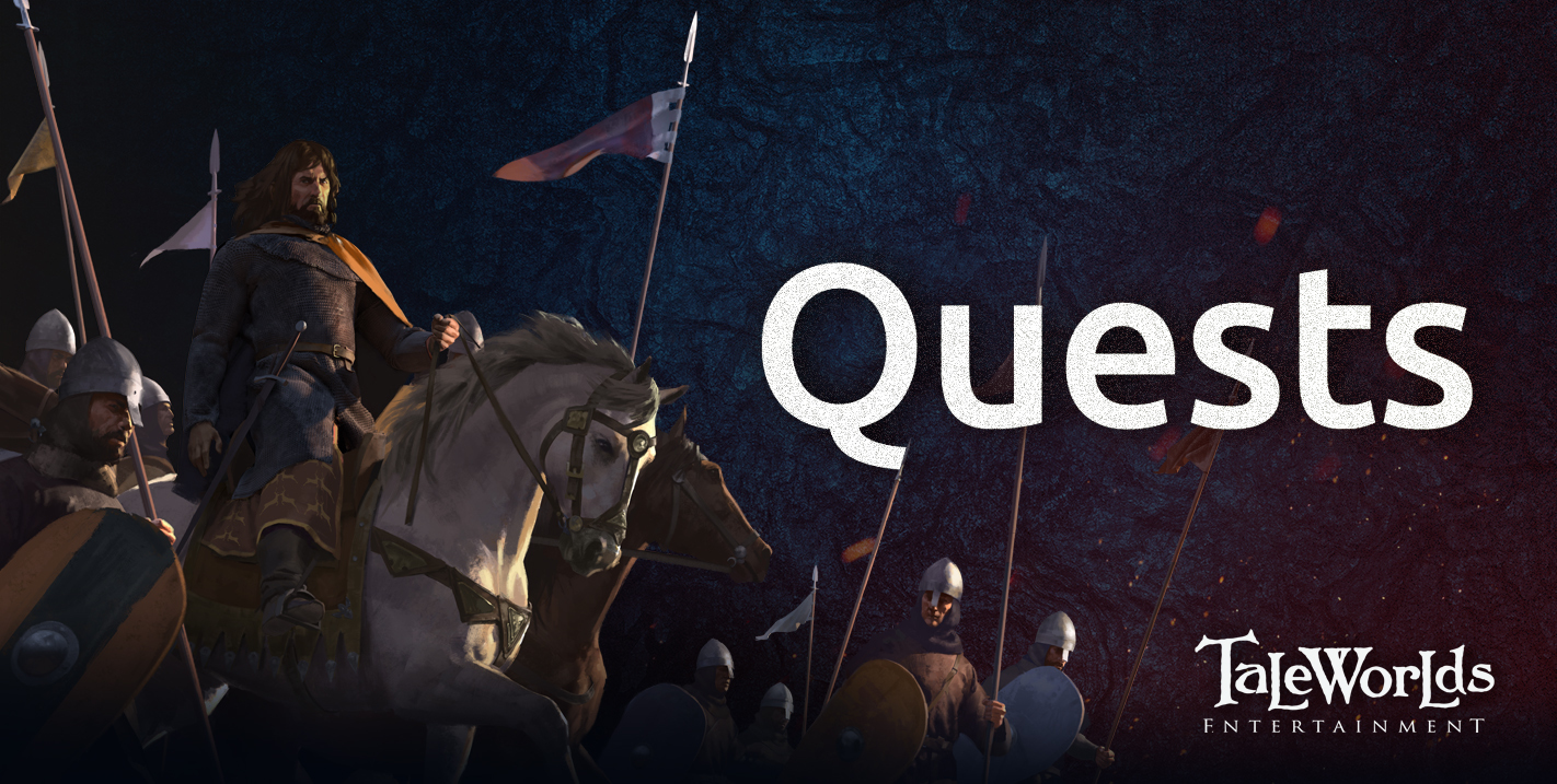 Diario semanal de desarrollo de Bannerlord 56: Quests 43157feab65f0b8219d91563daa742a79ce2134f