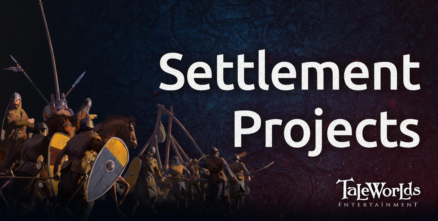 Diario semanal de desarrollo de Bannerlord 67: Proyectos para los Asentamientos 8e469c6e3e19ee64d9a630c07b0dc1b601d47d5c
