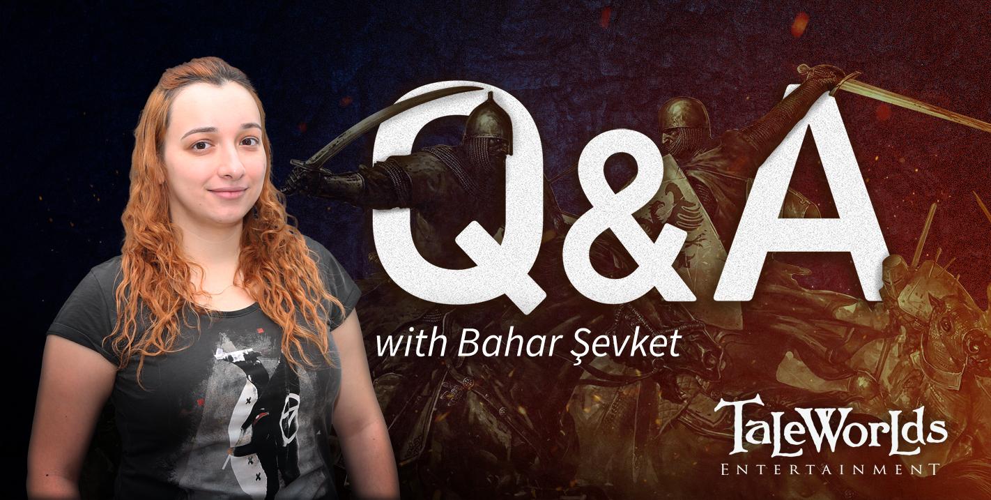 Diario semanal de desarrollo de Bannerlord 71: Entrevista a Bahar Şevket B898455b6ae1bfe1febb1819671aaf581151b730