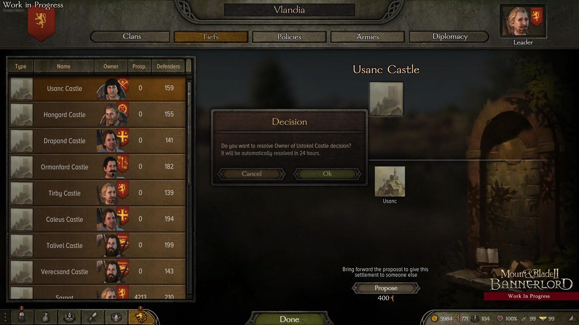 Diario Semanal de desarrollo de Bannerlord 112: Decisiones del reino. C2d4f9dcd1c0f2e4777e4945a2bfb14ecef2b49f