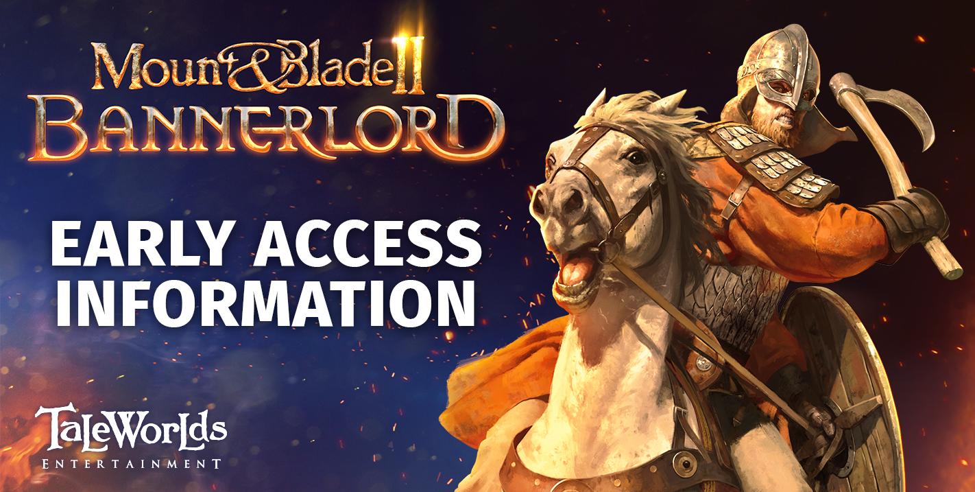 El acceso anticipado de Mount & Blade II: Bannerlord se adelanta un día 2