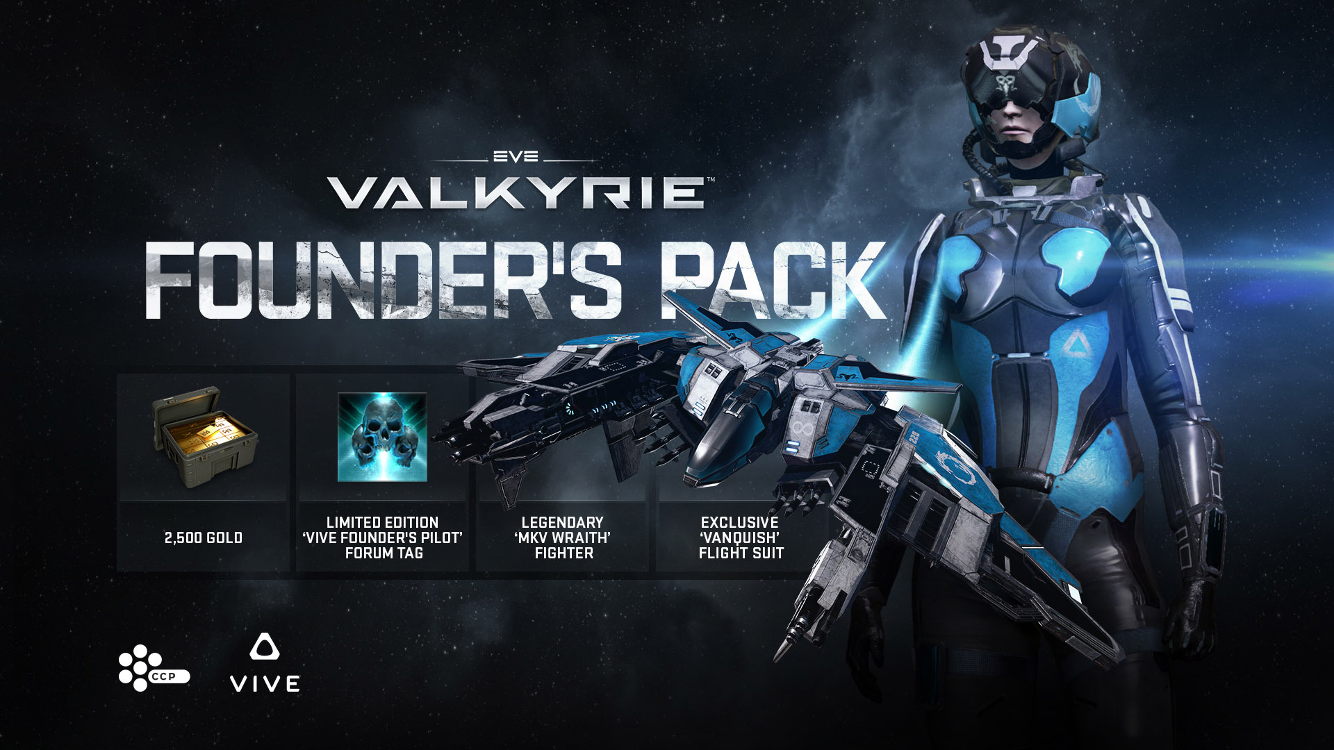EVE Valkyrie EVE Valkyrie Launches On Steam And HTC Vive