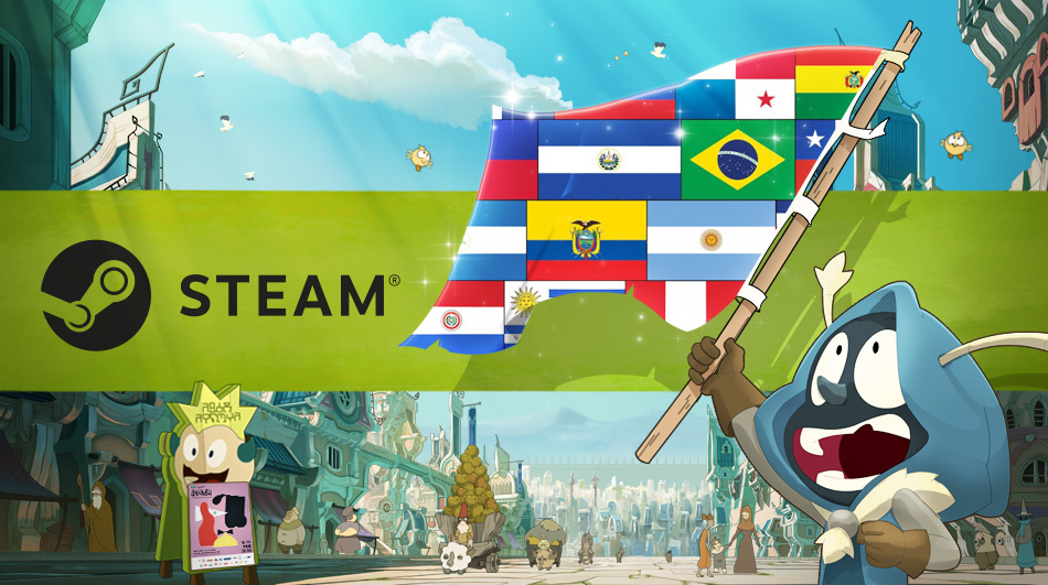 DOFUS IS AVAILABLE ON STEAM FOR LATIN AMERICA