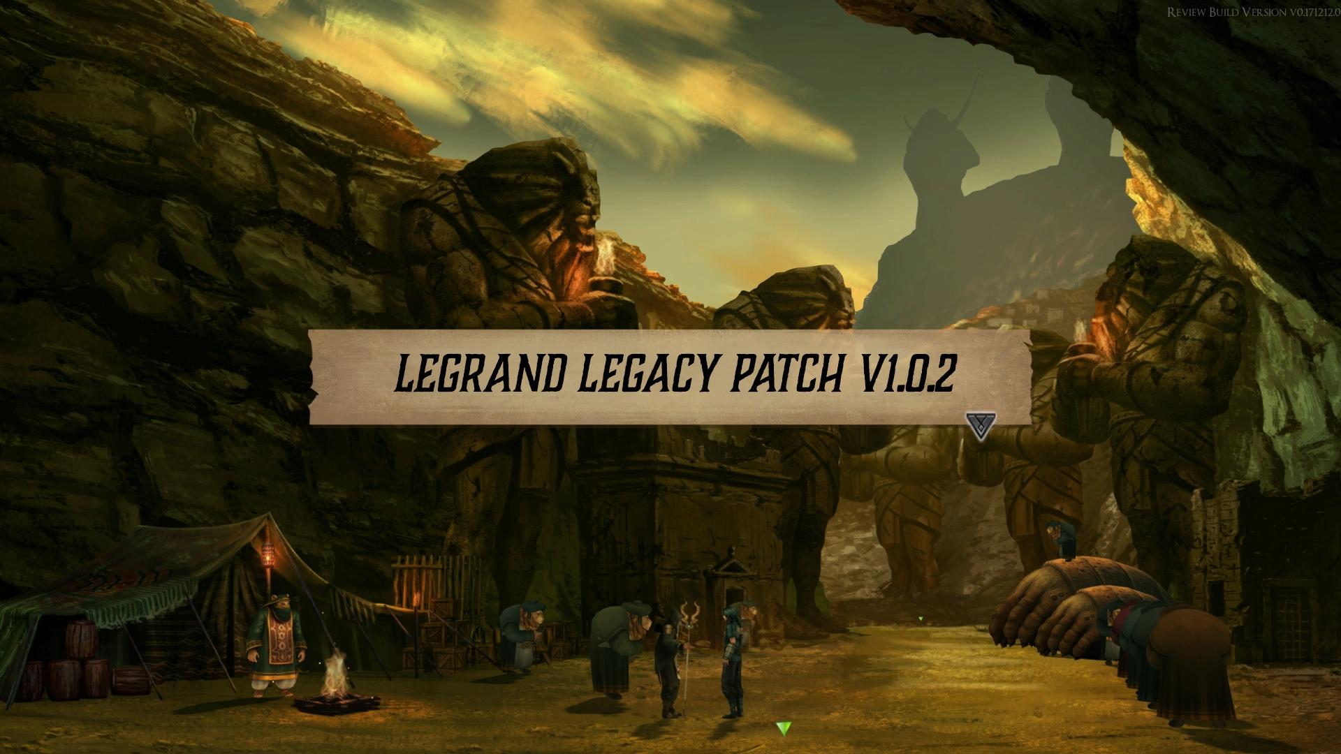 Legrand Legacy :: LEGRAND LEGACY PATCH V1 0 2