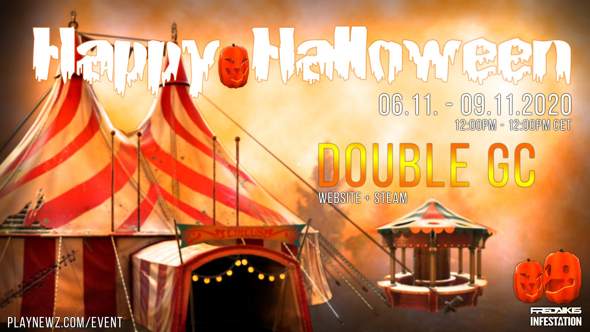 Halloween 2020 Event - Double GC