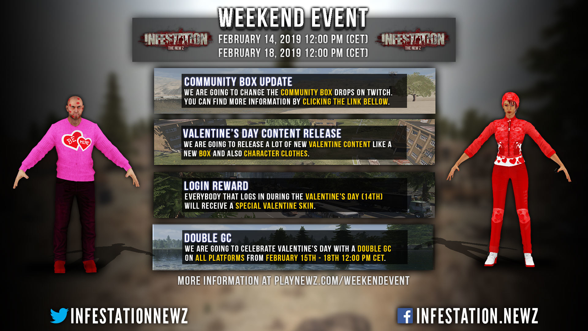 Steam Infestation The New Z Valentine S Day Event