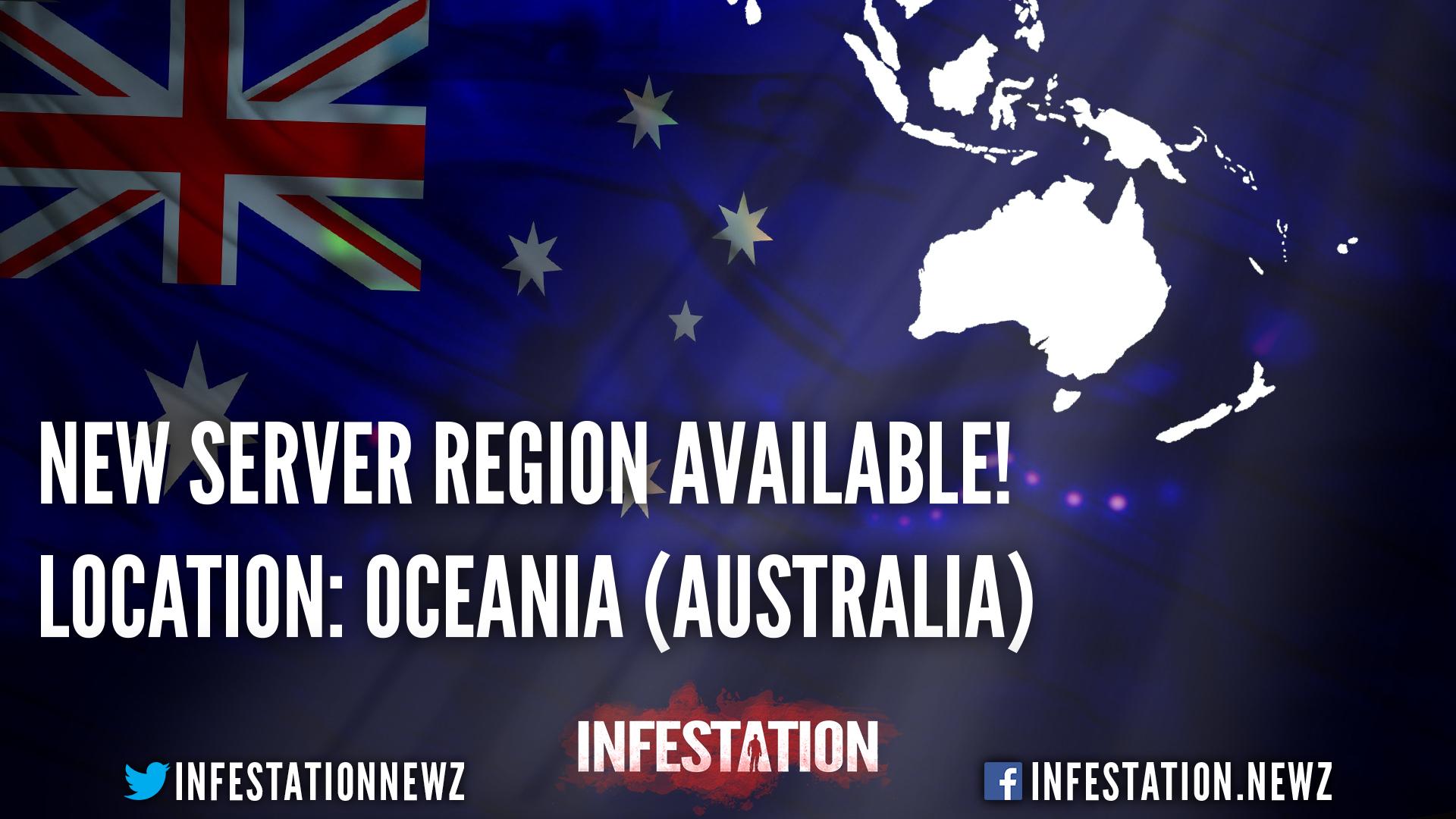 New Region - OCEANIA