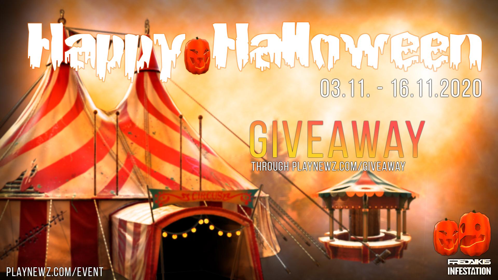Halloween 2020 Event - Giveaway