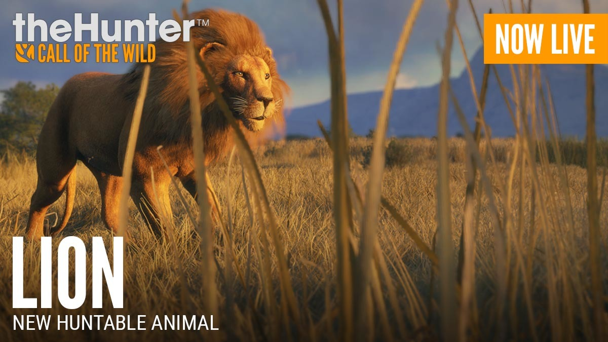 theHunter™: Call of the Wild :: Lion Release - Patch 1 29