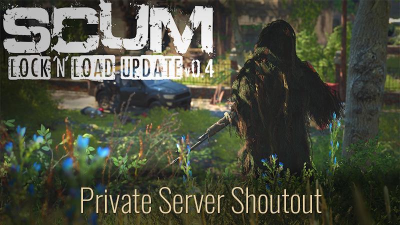 Private servers shoutout