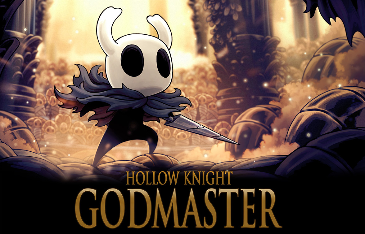 Hollow Knight: Godmaster is out now for all players!
