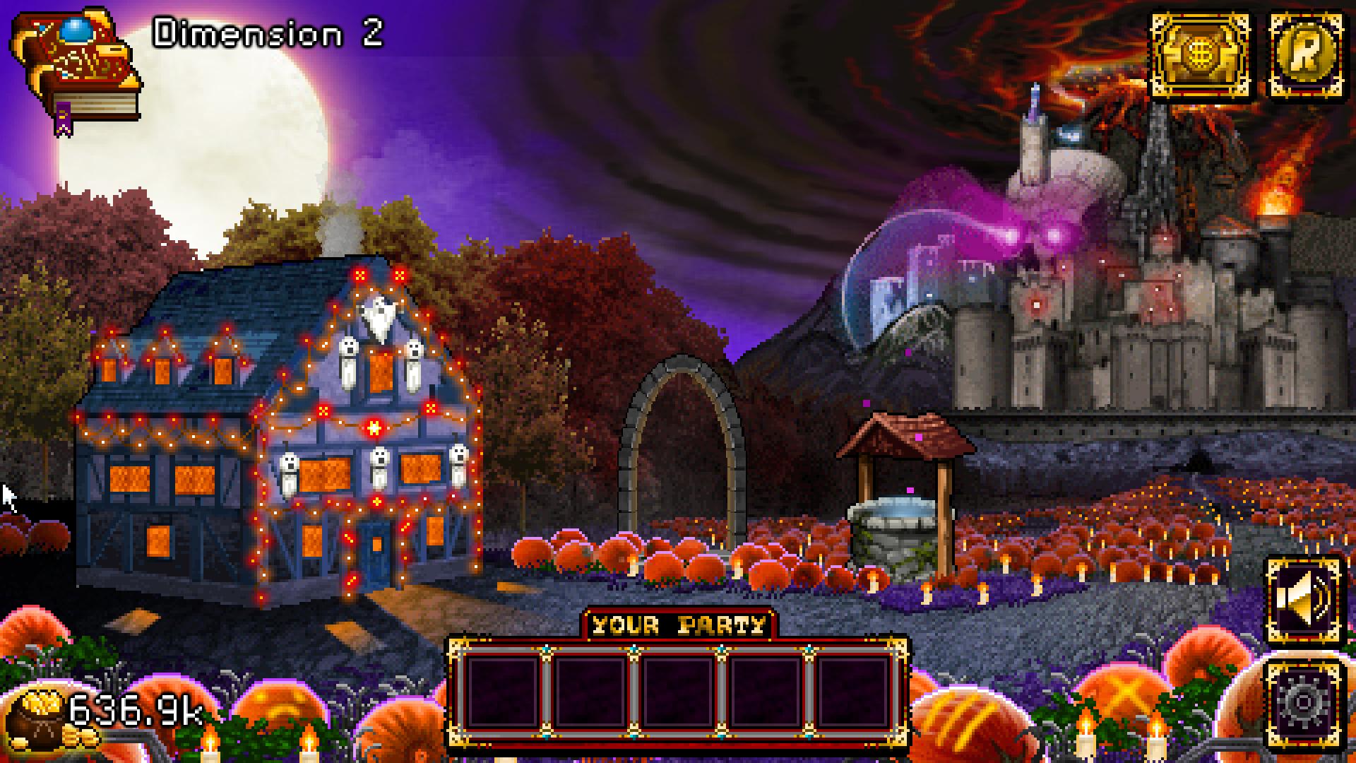 soda dungeon :: version 1.2.41 halloween update is now live!