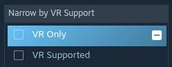 VR Only Steam