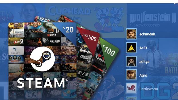 Steam Blog :: Introducing Steam Digital Gift Cards