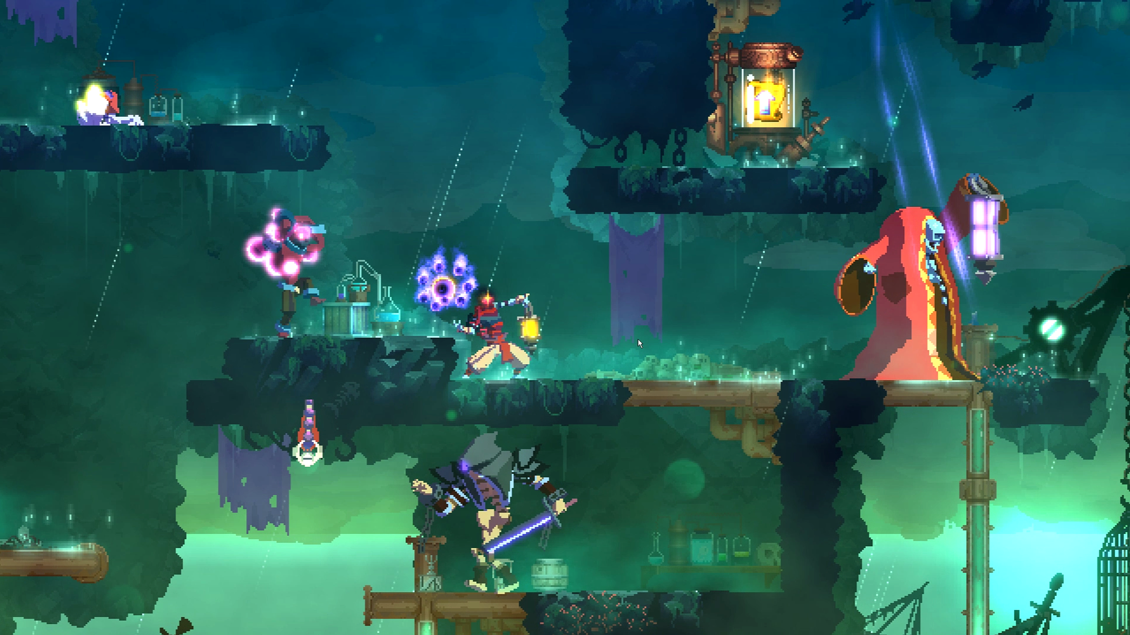 Two New Biomes Will Bring Fresh Weapons And Challenges To Dead Cells Early Next Year.