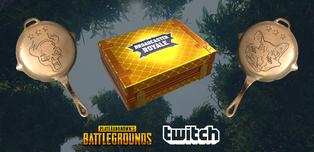 PLAYERUNKNOWN'S BATTLEGROUNDS :: Limited Time Broadcaster Royale