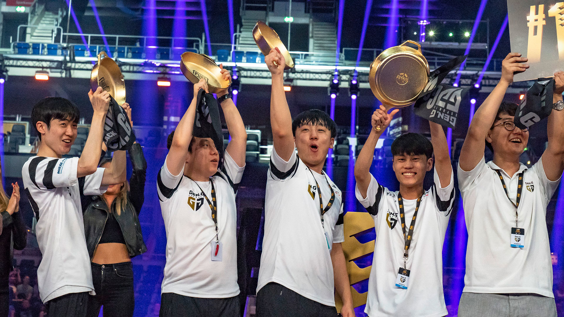 G Gold Have Won The Third Person Perspective Leg Of The  Pubg Global Invitational After Several Tense Standoffs With Second Place Winners Team Liquid
