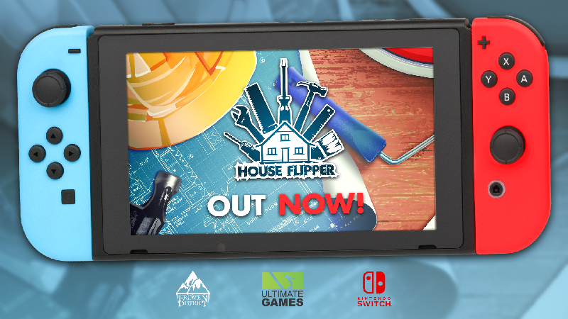 House Flipper House Flipper Has Just Arrived On Nintendo Switch With A 15 Release Discount Steam News