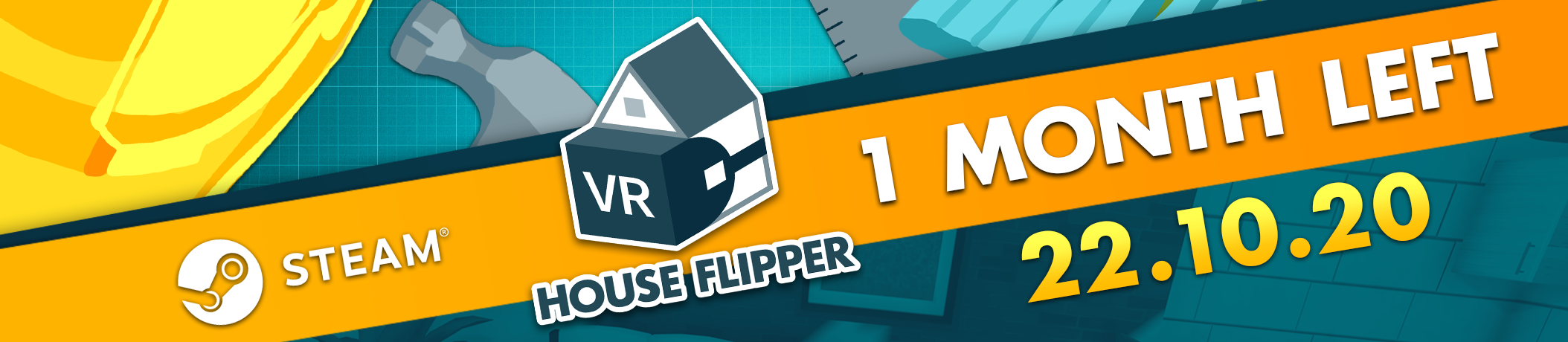 House Flipper VR is one month away from the Steam release!