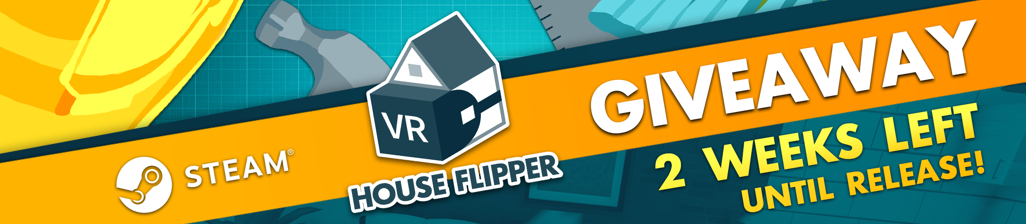 House Flipper VR arrives in 2 weeks! Giveaway time!