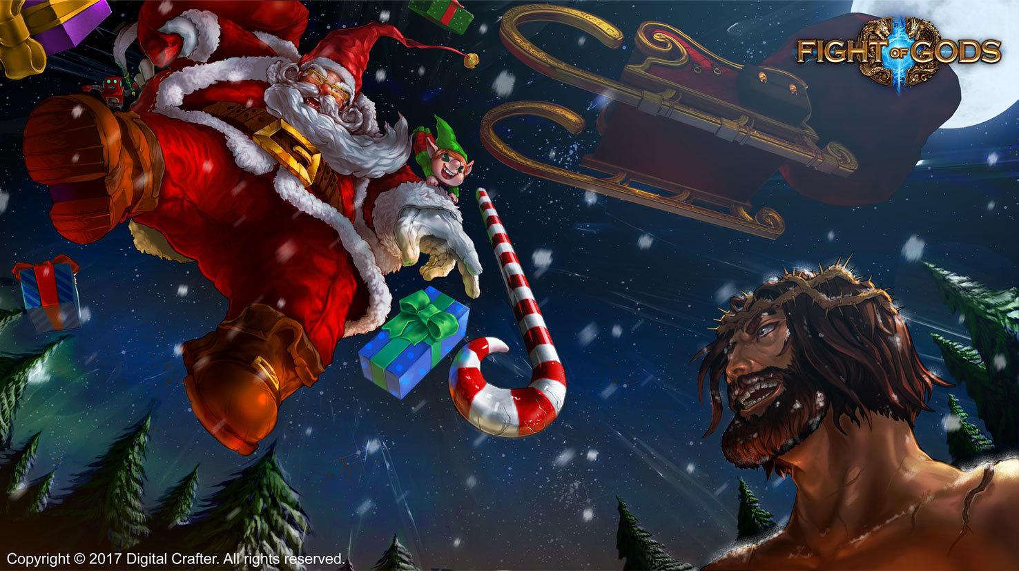 Fight of Gods :: Ho ho ho! Santa Claus has joined Fight Of Gods!
