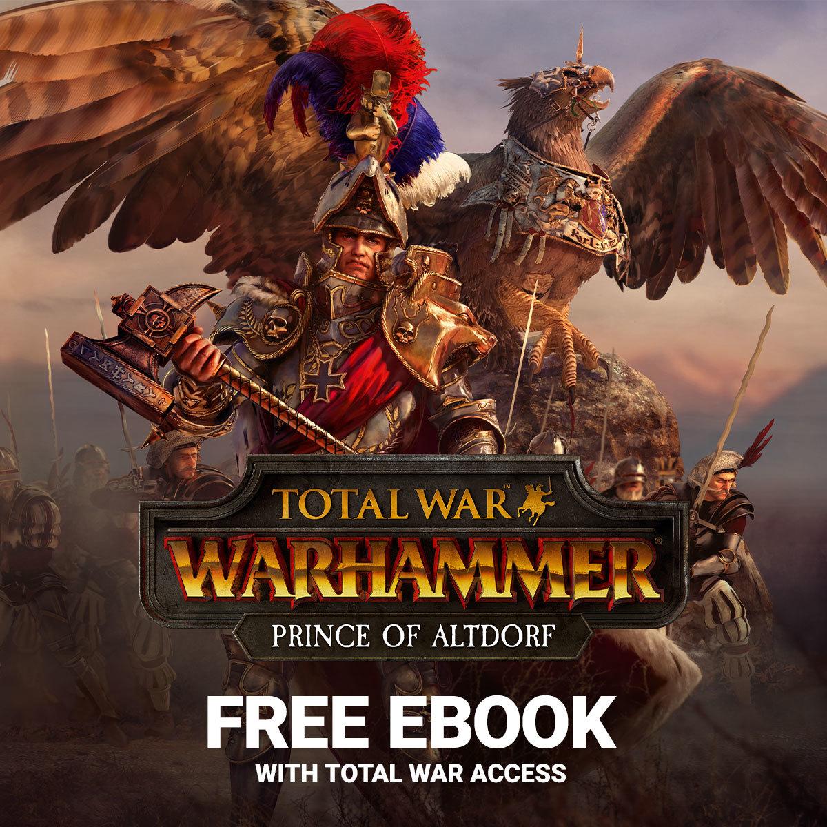 Total War: WARHAMMER II :: Free Prince of Altdorf Ebook!