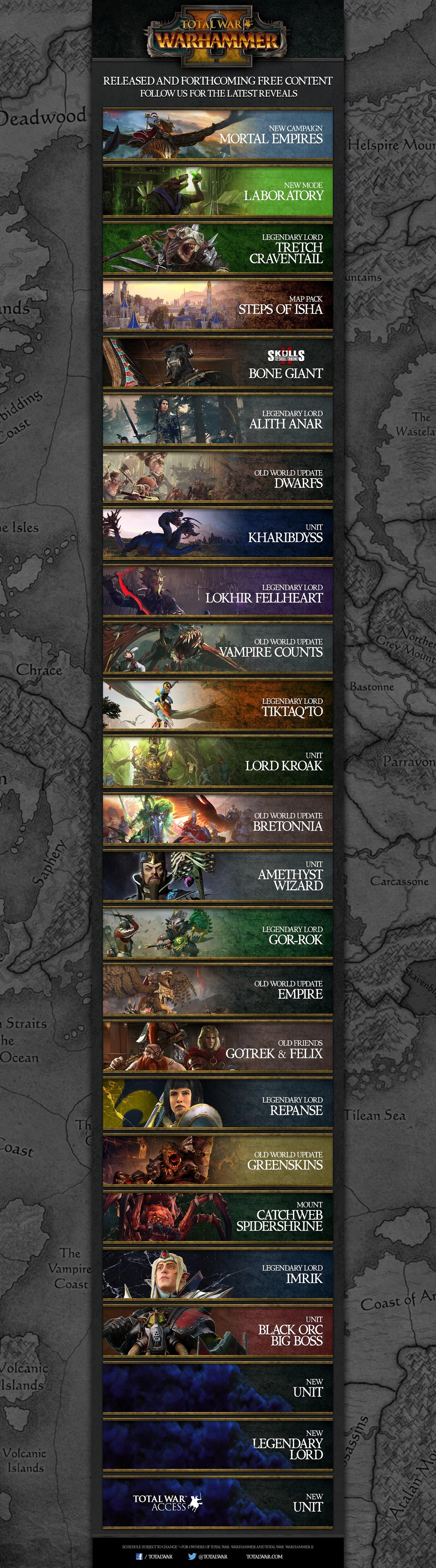 Get a sneak peek at upcoming Total War: WARHAMMER II content!