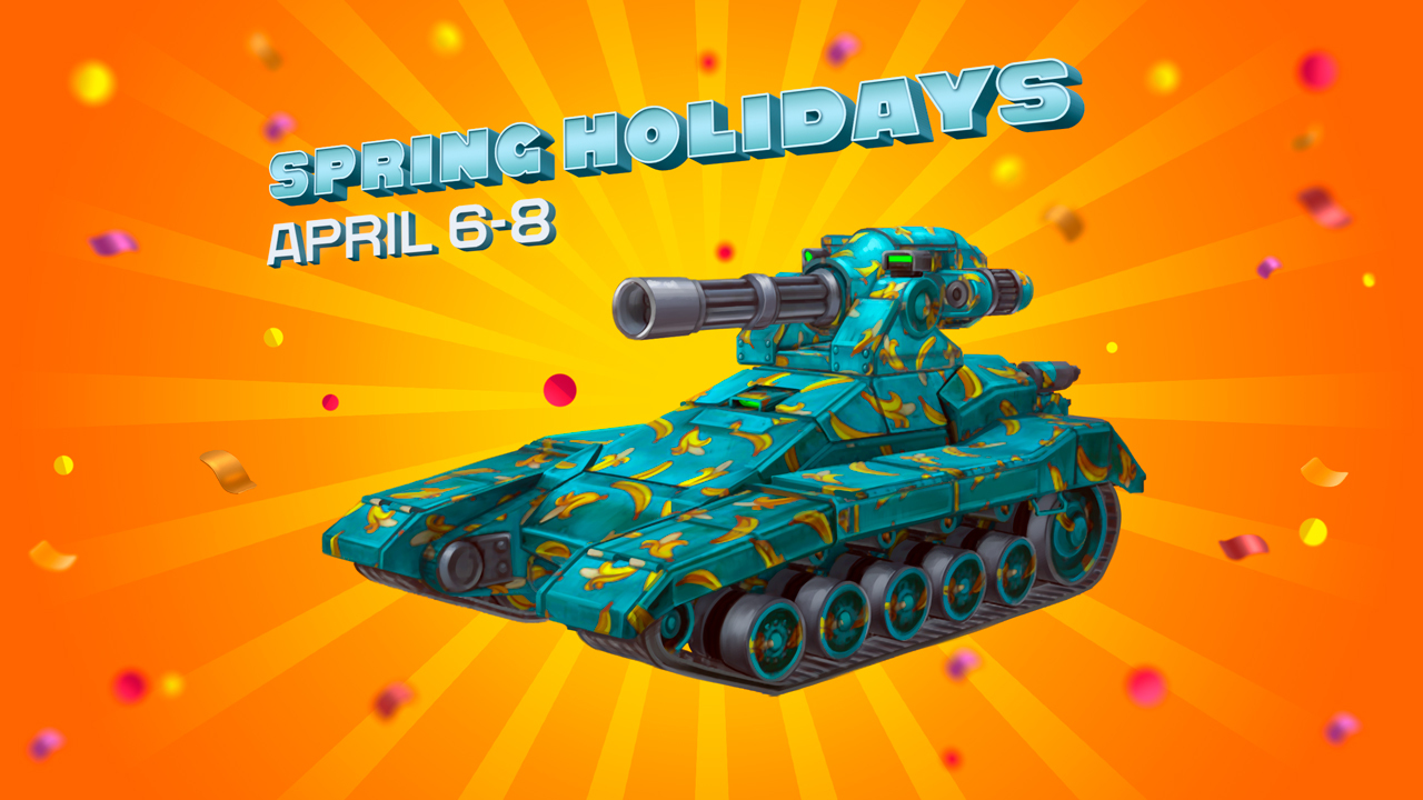 Spring Holidays and Update!