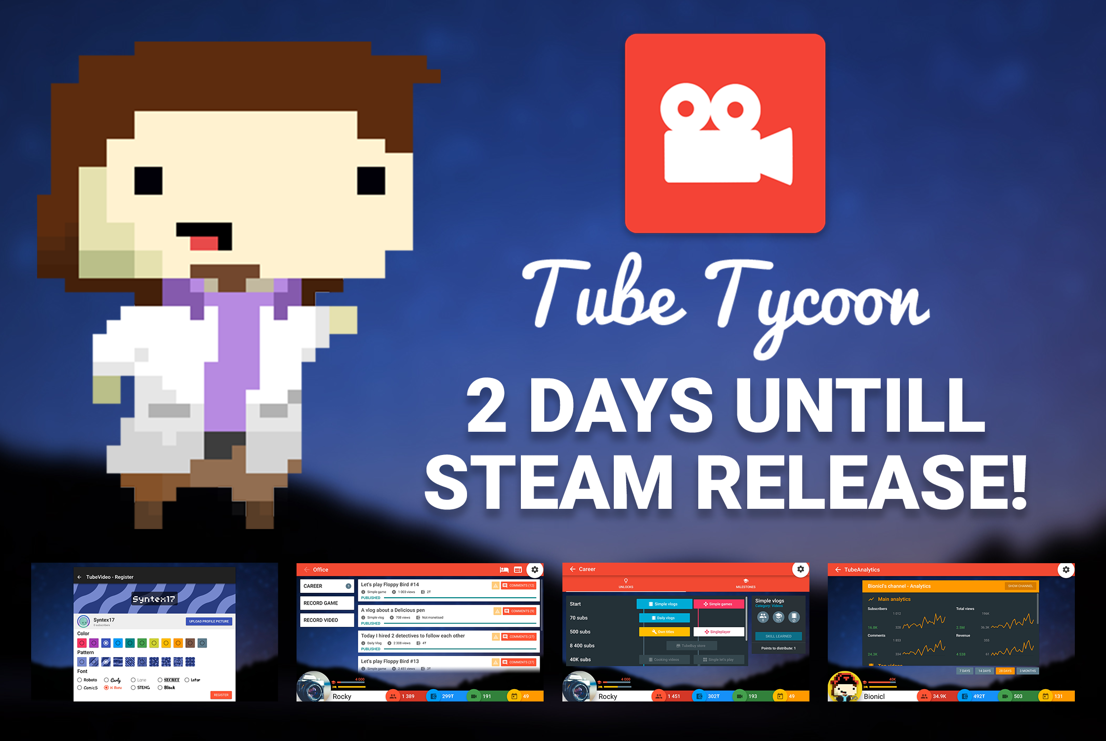 Tube tycoon game