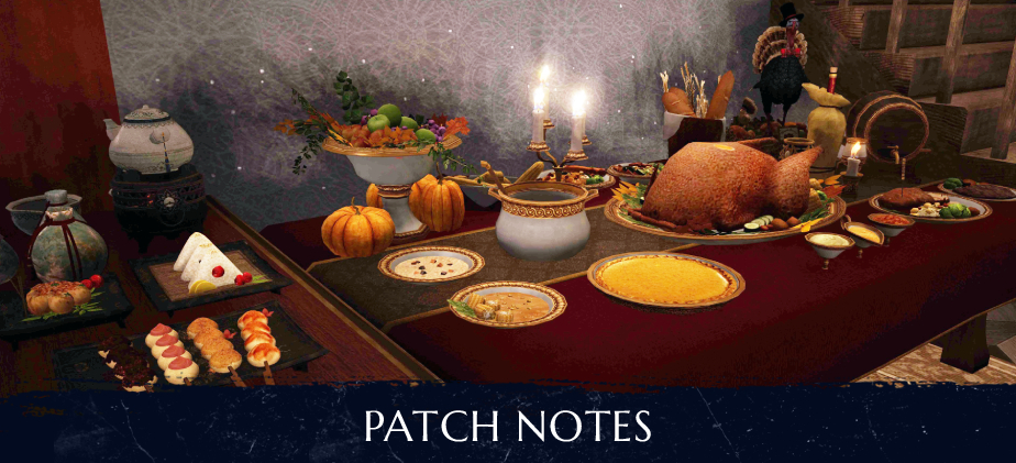 Patch Notes - November 11th 2020