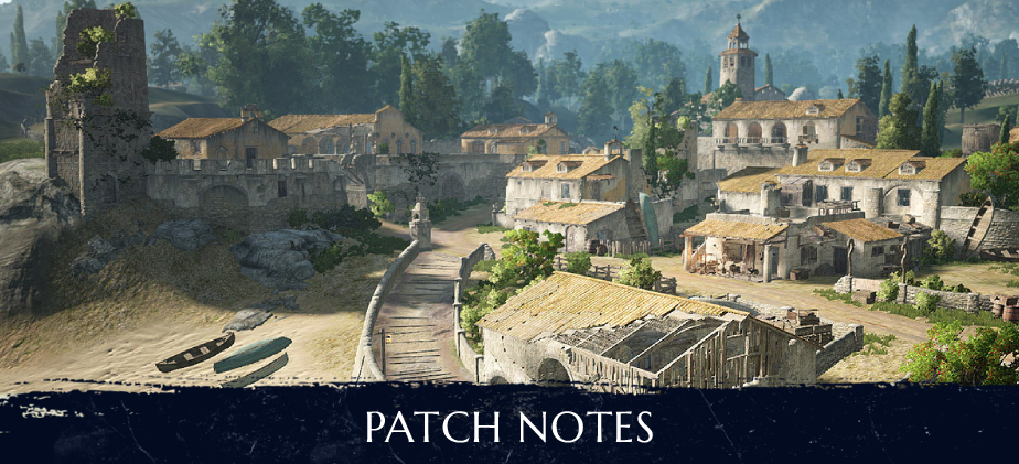 Patch Notes - November 25th 2020