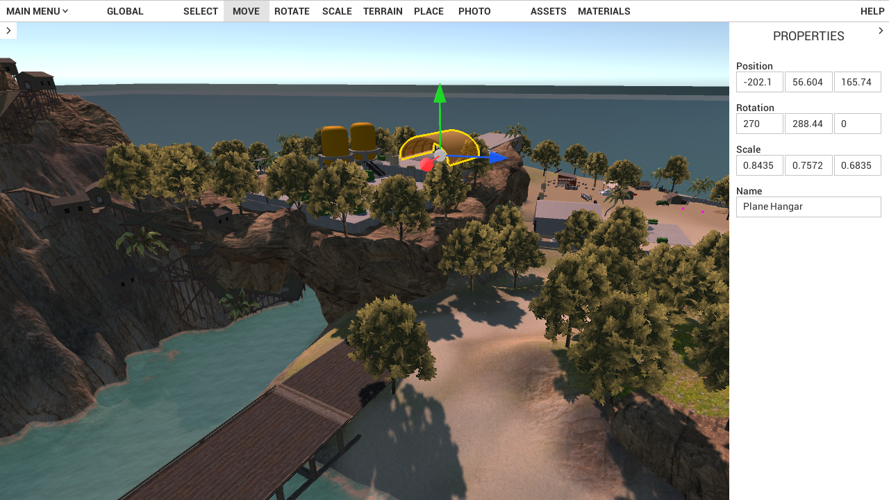 Ingame Map Editor — Early Access Build 16