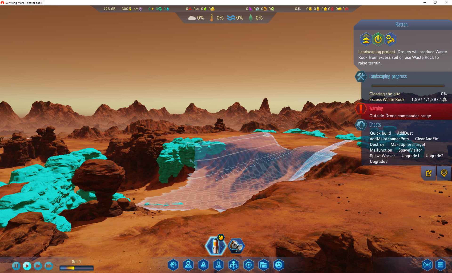 Surviving Mars :: Grupptillkännagivanden