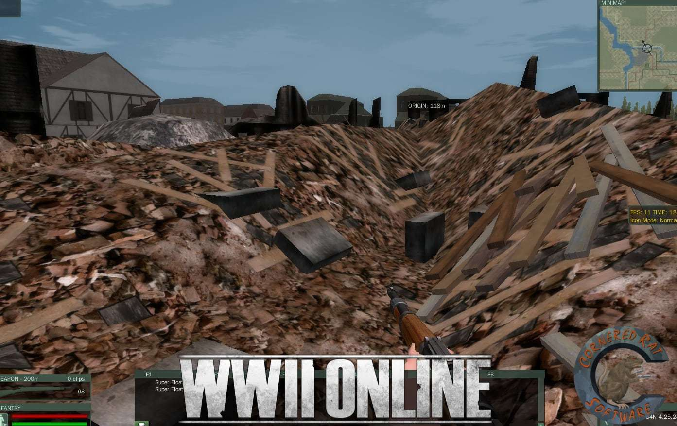 Nov 11, 2018 Production Update - Game Environment WWII