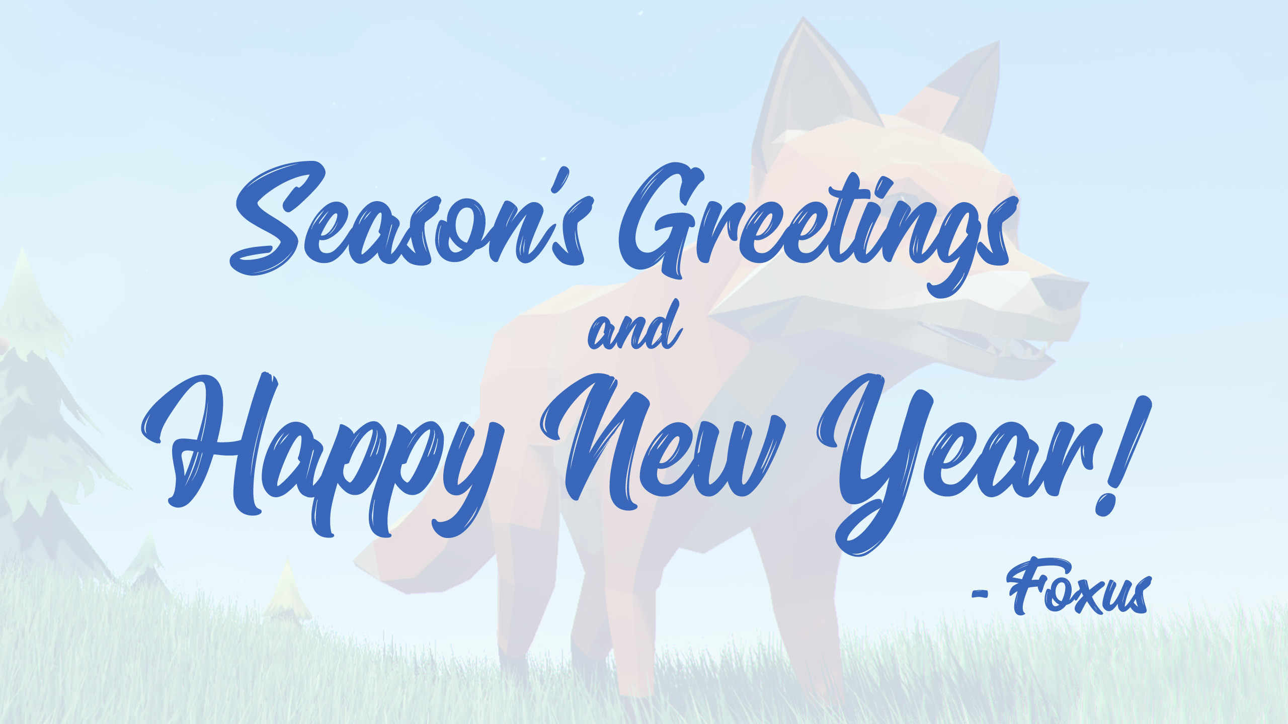 Foxus Seasons Greetings And Happy New Year