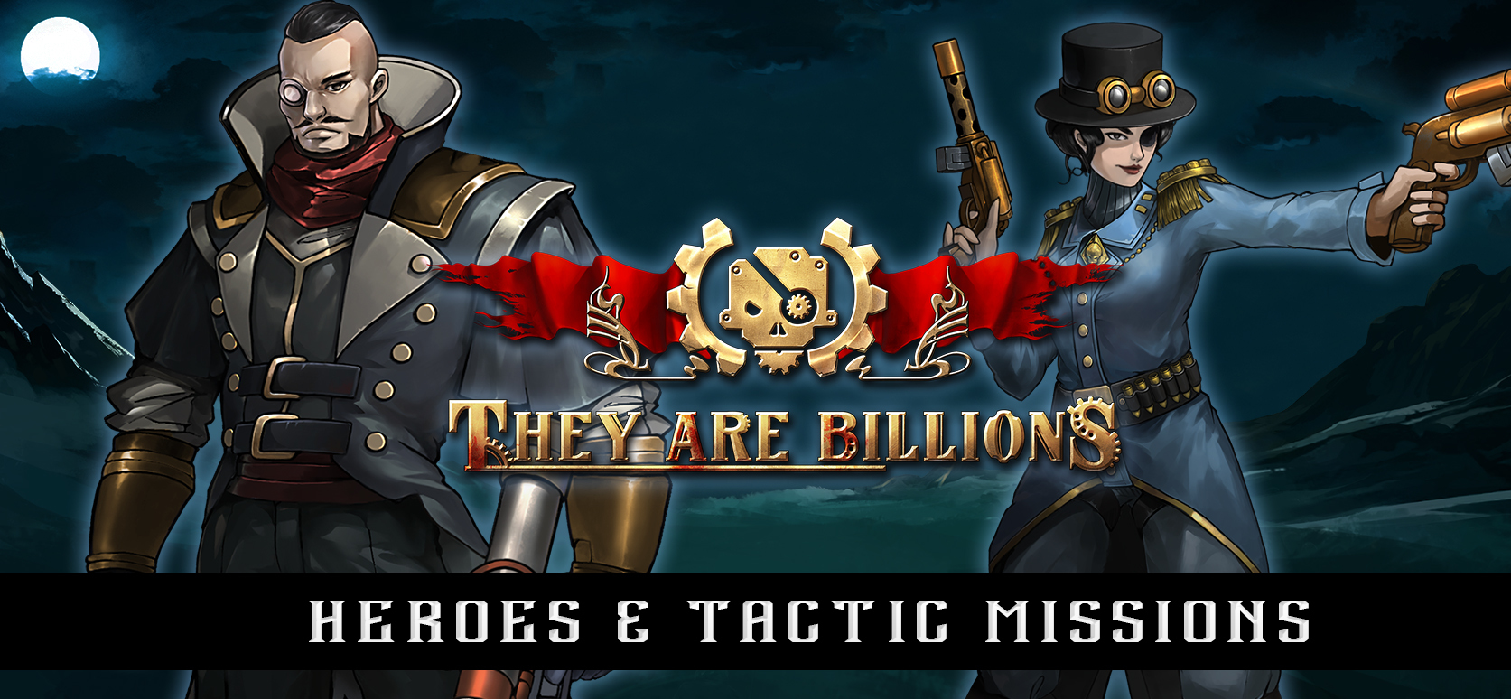 They Are Billions Update: Heroes & Tactic Missions