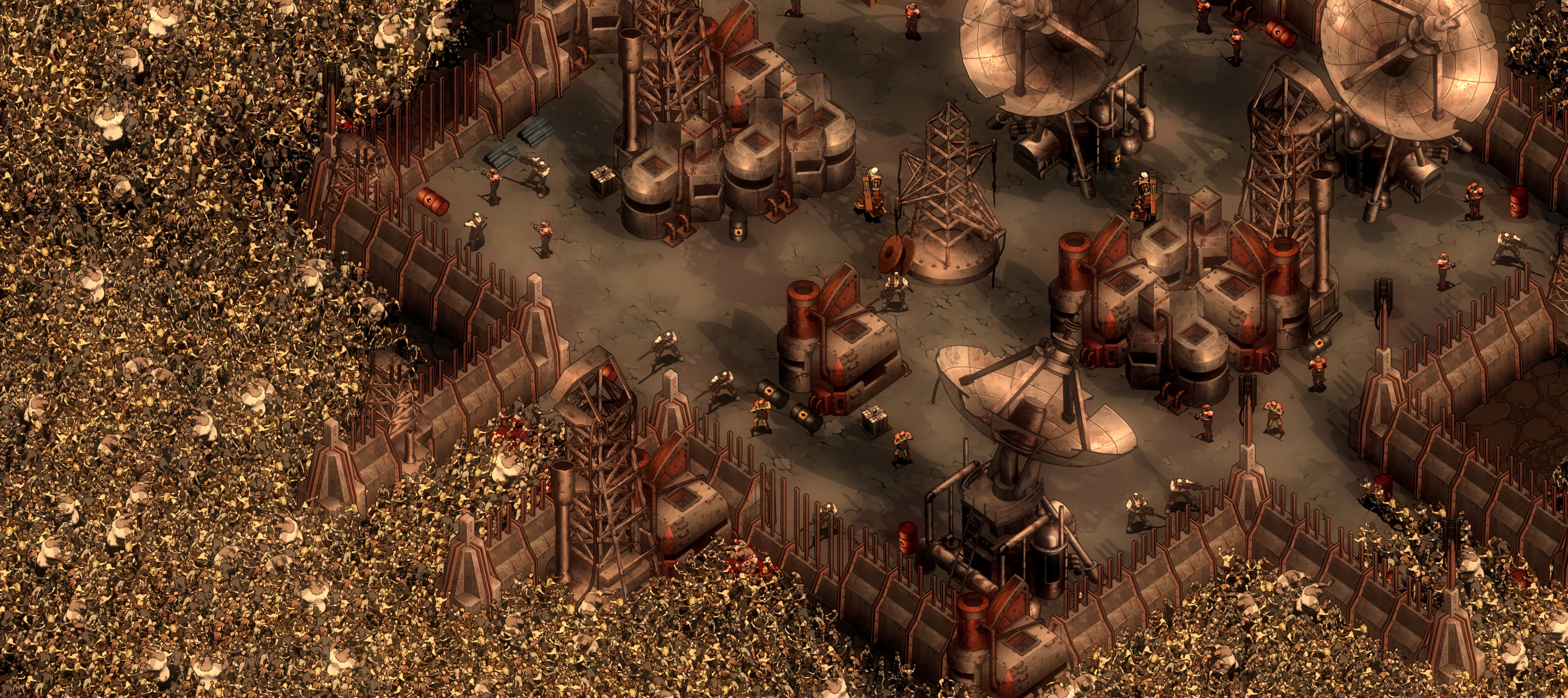 They Are Billions Update: The Old Human Fortresses | Numantian Games