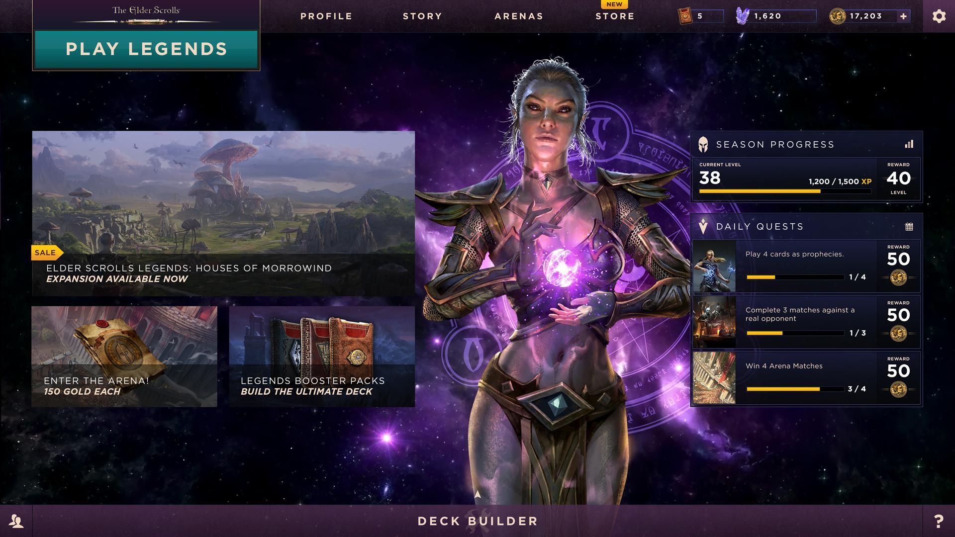 The Elder Scrolls Online Legends Wallpapers: The Elder Scrolls®: Legends™ On Steam
