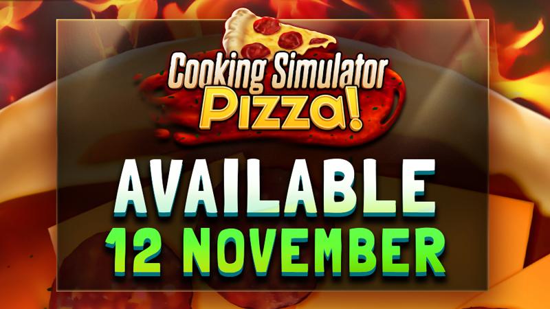 Pizza available 12 November!🍕