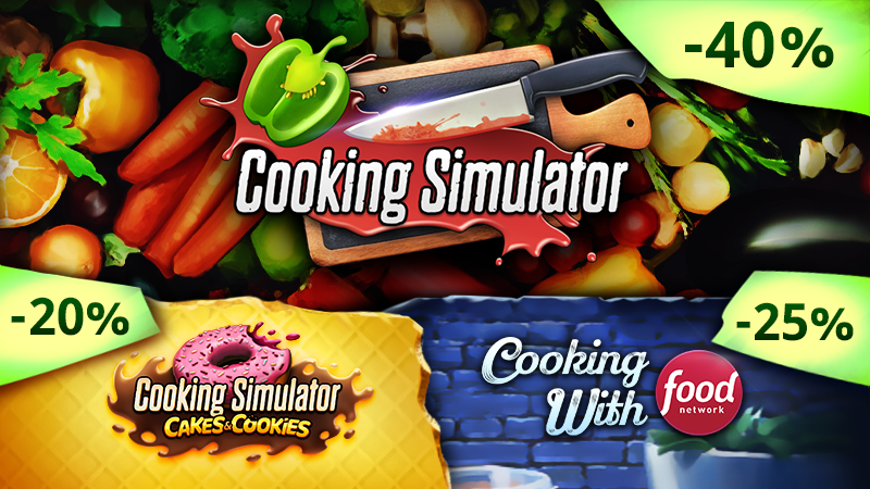 Weekend Deal: Cooking Simulator and all DLCs up to -40%